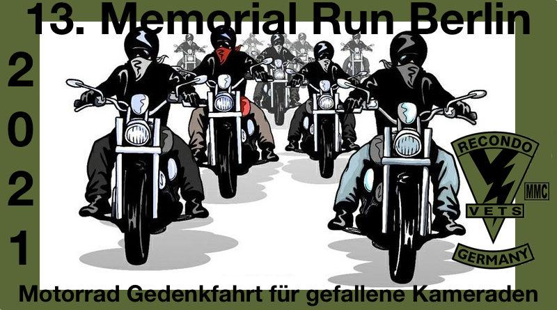13. Memorial Run Berlin 2021