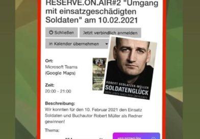 """""""Umgang mit Einsatzgeschädigten Soldaten"""""""