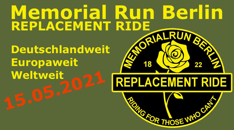 MEMORIAL RUN REPLACEMENT DAY 2021
