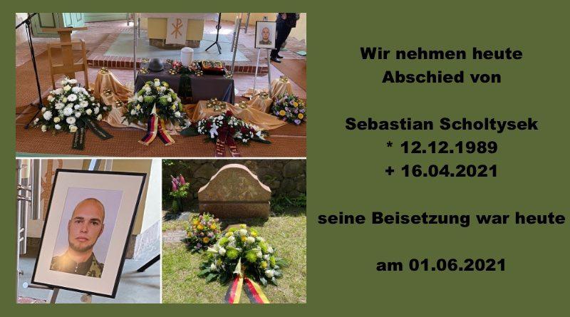 Beisetzung des OStGefr Sebastian Scholtysek
