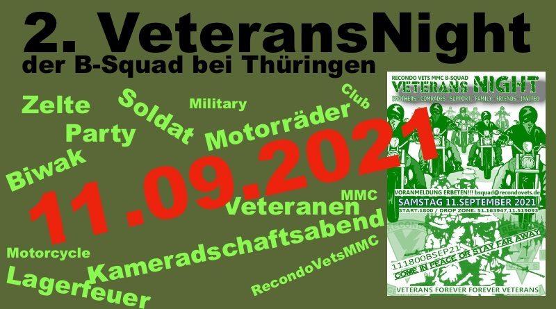 2. VeteransNight der B-Squad