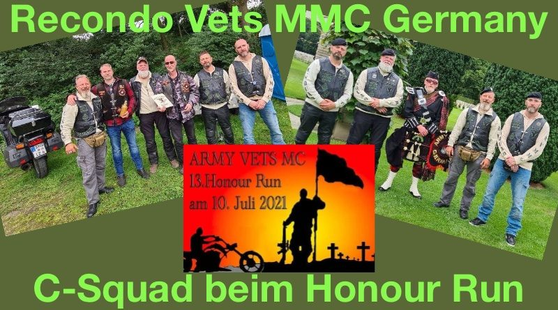 Honour Run 2021 der Army Vets MC