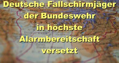 Fallschirmjäger in höchster Alarmbereitschaft