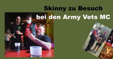 Skinny zu Besuch bei den ArmyVets MC